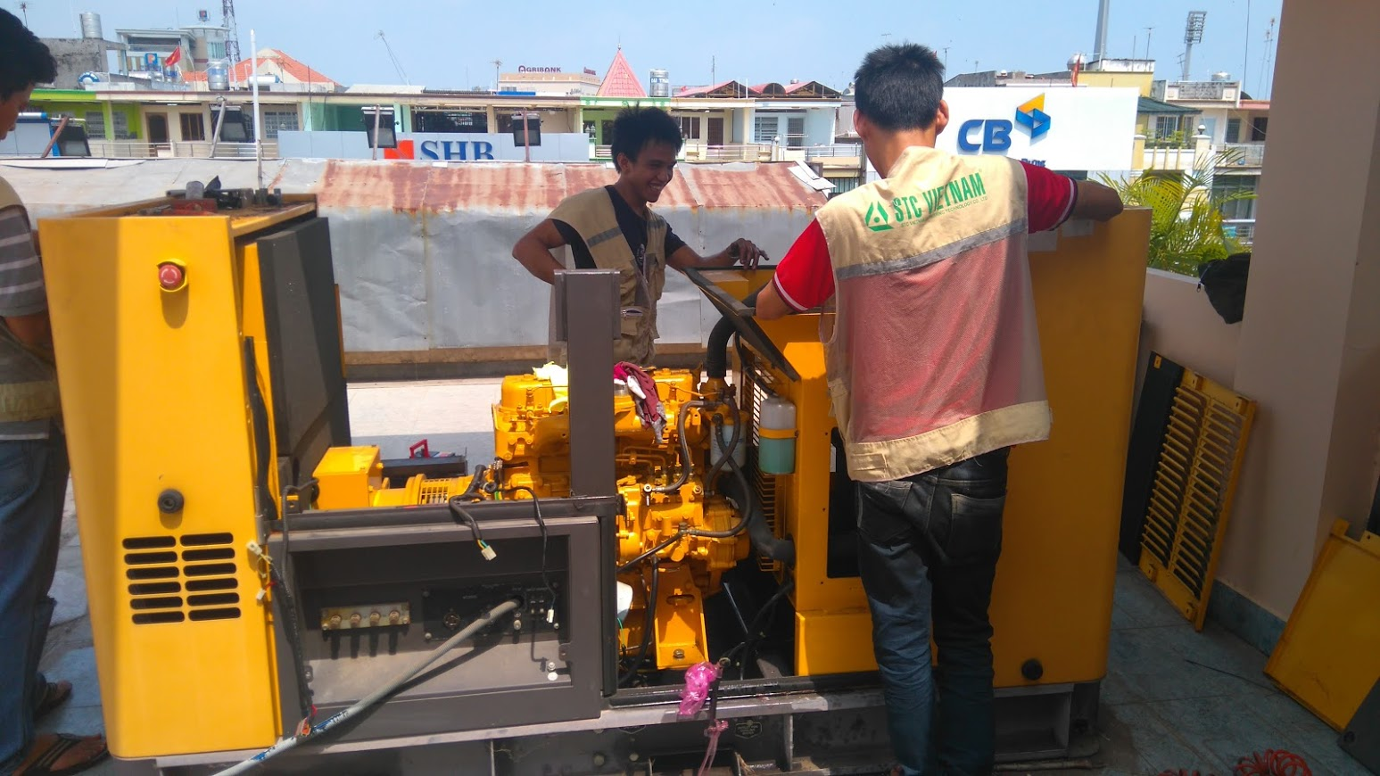 Sửa chửa máy phát điện Quận 7, TP Hồ Chí Minh