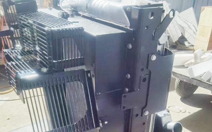 Két nước Komatsu Radiator | PC360-7